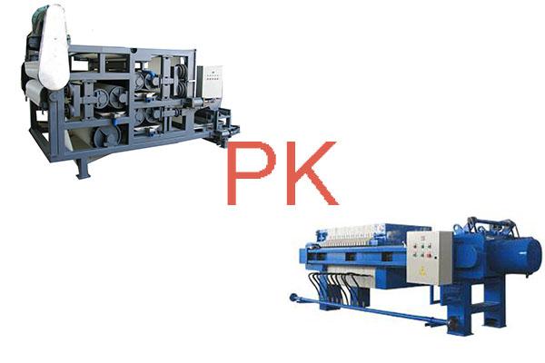 带式压滤机工作原理,浅谈压滤机工作原理。