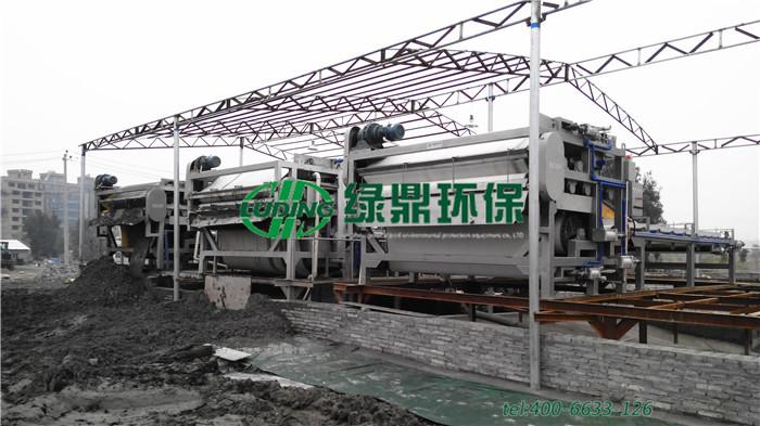 打桩污泥脱水机处理案例,建筑污泥回收站处理打桩污泥案例