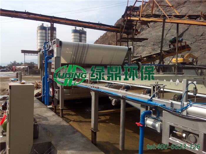 洗砂污泥脱水机处理案例,洗沙厂泥浆怎么处理?如何选择脱水机