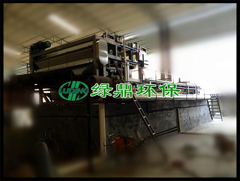 钢铁厂使用带式压滤机确保了治理效果对酸洗废水进行中和处理达到了零排放标准