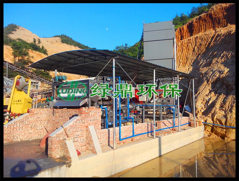 带式压滤机应用于水质净化厂污泥处理工艺