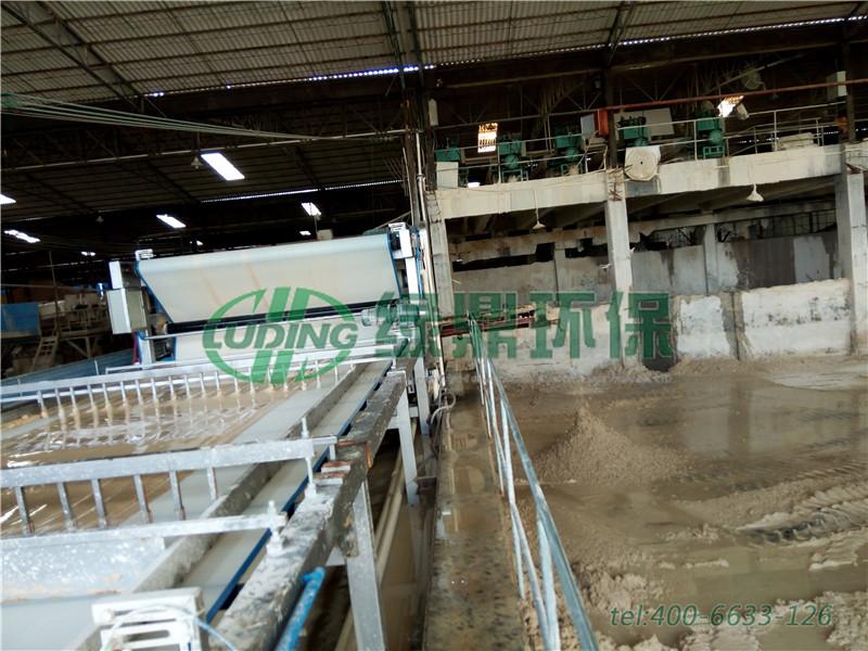 带式脱水一体机,3-4吨/天咸菜腌制废水工程