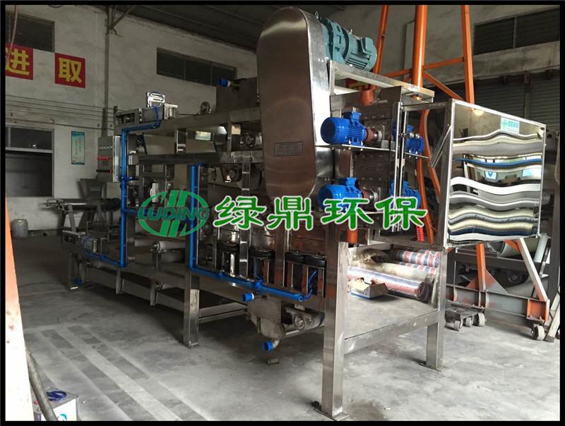 不锈钢带式压滤机 型号LDDY 304全不锈钢食品级使用压滤机