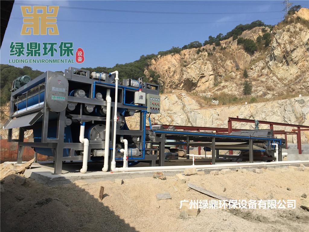 洗水沙厂带式压滤机 洗水沙厂污泥脱水机 洗水沙厂污泥处理设备