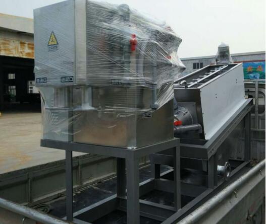 污泥脱水机是一种效率高操作简便的机器