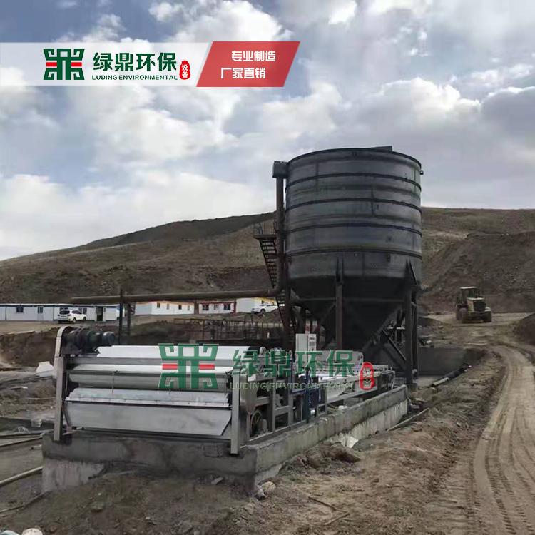 国外沙场泥浆脱水处理工程-沙场污泥处理设备视频